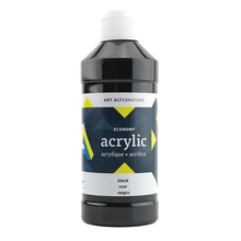 Art Alternatives Studio Acrylic 16 oz - Black