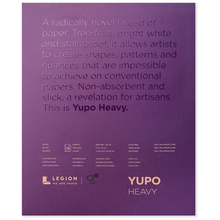 Yupo Heavyweight Pad - 390 gsm (144 lb.) White - 10 sheets 11X14