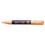 uni POSCA Paint Marker PC-1M Extra Fine Tapered Bullet Tip - Light Orange