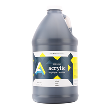 Art Alternatives Studio Acrylic 64 oz - Black