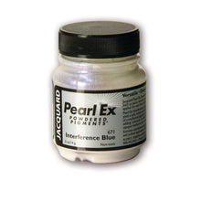 Jacquard Pearl-Ex Powdered Pigment .5 Oz Interference Blue