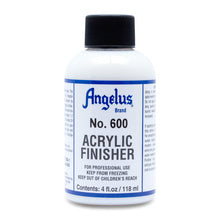 Angelus Acrylic Leather Finisher - 4 oz. Bottle - No. 600 Normal