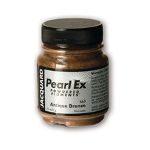 Jacquard Pearl-Ex Powdered Pigment .75 Oz Antique Bronze
