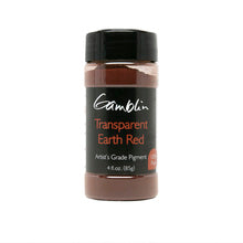 Gamblin Dry Pigment Transparent Earth Red 4oz (118ml)