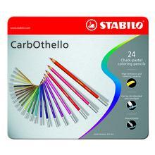 Carbothello  pastel pencil set 24