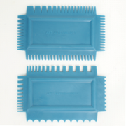 Art Alternatives Rubber Texture Combs - 2 Piece Set