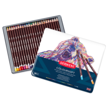 Derwent Coloursoft Colored Pencil Set of 24