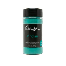 Gamblin Dry Pigment Viridian  4oz (118ml)