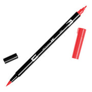 Tombow Dual Brush Pen 856 Chinese Red