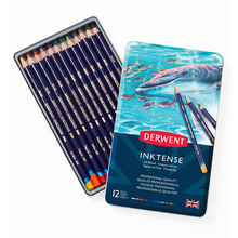 Derwent Inktense  12 Pencil Set