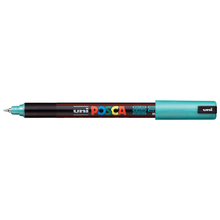 uni POSCA Paint Marker PC-1MR Ultra Fine Tip - Metallic Green