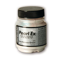 Jacquard Pearl-Ex Powdered Pigment .5 Oz Interference Green