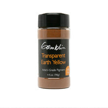 Gamblin Dry Pigment Transparent Earth Yellow 4oz (118ml)