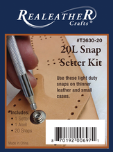 Leather Snaps & Setter Kit