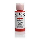 Golden Fluid Acrylic Naphthol Red Light 1 oz