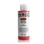 Golden Fluid Acrylic Naphthol Red Light 4 oz