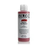 Golden Fluid Acrylic Naphthol Red Medium 4 oz