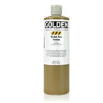 Golden Fluid Acrylic Nickel Azo Yellow 16 oz