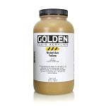 Golden Fluid Acrylic Nickel Azo Yellow 32 oz