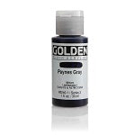 Golden Fluid Acrylic Paynes Gray 1 oz