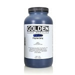 Golden Fluid Acrylic Paynes Gray 32 oz