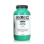 Golden Fluid Acrylic Permanent Green Light 32 oz