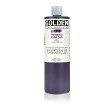 Golden Fluid Acrylic Permanent Violet Dark 16 oz