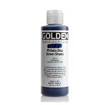 Golden Fluid Acrylic Phthalo Blue (green shade) 4 oz
