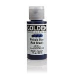 Golden Fluid Acrylic Phthalo Blue (red shade) 1 oz