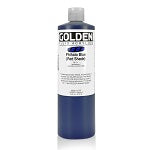 Golden Fluid Acrylic Phthalo Blue (red shade) 16 oz