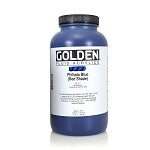 Golden Fluid Acrylic Phthalo Blue (red shade) 32 oz