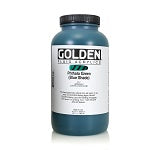 Golden Fluid Acrylic Phthalo Green (blue shade) 32 oz