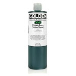 Golden Fluid Acrylic Phthalo Green (yellow shade) 16 oz