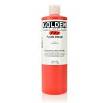 Golden Fluid Acrylic Pyrrole Orange 16 oz