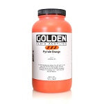 Golden Fluid Acrylic Pyrrole Orange 32 oz
