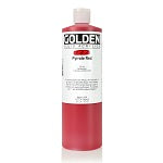 Golden Fluid Acrylic Pyrrole Red 16 oz
