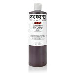 Golden Fluid Acrylic Quinacridone Burnt Orange 16 oz