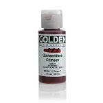 Golden Fluid Acrylic Quinacridone Crimson 1 oz