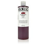 Golden Fluid Acrylic Quinacridone Crimson 16 oz