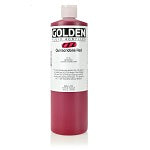 Golden Fluid Acrylic Quinacridone Red 16 oz