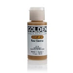 Golden Fluid Acrylic Raw Sienna 1 oz