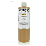 Golden Fluid Acrylic Raw Sienna 16 oz