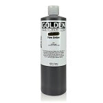 Golden Fluid Acrylic Raw Umber 16 oz