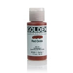 Golden Fluid Acrylic Red Oxide 1 oz