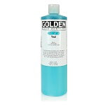 Golden Fluid Acrylic Teal 16 oz