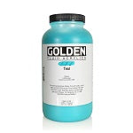 Golden Fluid Acrylic Teal 32 oz
