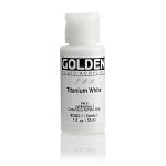 Golden Fluid Acrylic Titanium White 1 oz
