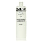 Golden Fluid Acrylic Titanium White 16 oz
