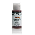 Golden Fluid Acrylic Transparent Red Iron Oxide 1 oz