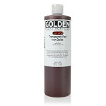 Golden Fluid Acrylic Transparent Red Iron Oxide 16 oz